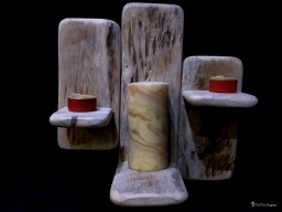 Triple candle holder / Apercu n 1