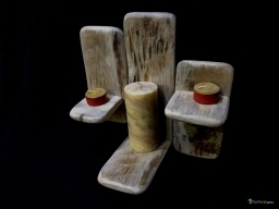 Triple candle holder / Apercu n 2