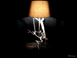 White tree lamp / Apercu n 6