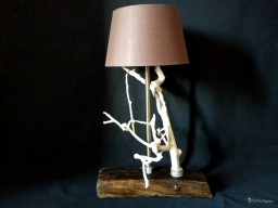 White tree lamp / Apercu n 7