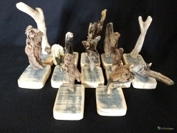 Mini wooden carving driftwood / Apercu n 1