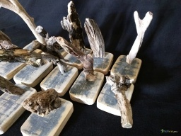 Mini wooden carving driftwood / Apercu n 3