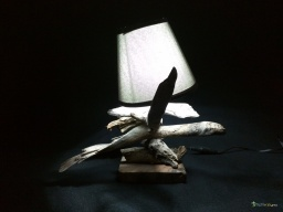 Small lamp driftwood cross / Apercu n 1