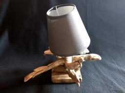 Small lamp driftwood cross / Apercu n 3